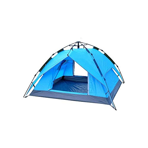 SQQSLZY Camping Tent 3-4 Person Tent Ultralight Easy Set Up and Carry Family Tent Backpacking Tent for Camping, Hiking, Outdoor Festivals, Car Trip