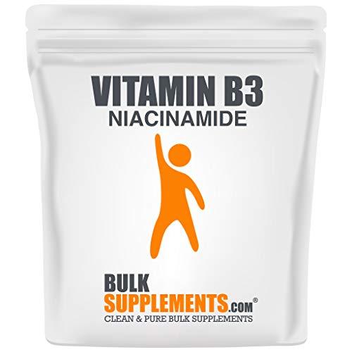 BulkSupplements Vitamin B3 (Niacinamide) Powder (100 Grams)