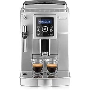 De'longhi Ecam 23.420.sb – Cafetera superautomática, 15 bares presión, depósito agua extraíble 1,8l, panel lcd, sistema cappuccino, dispensador de café ajustable, limpieza automática, plateado