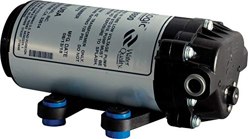 """Price comparison product image Hydro-Logic Purification Systems Hydrologic Pressure Booster Pump - Stealth-RO -w / 3 / 8"""" QC Fittings w / Transformer & high Pressure Switch - 110V Version 29020 Hydroponic Water Filtration for Gardening"""