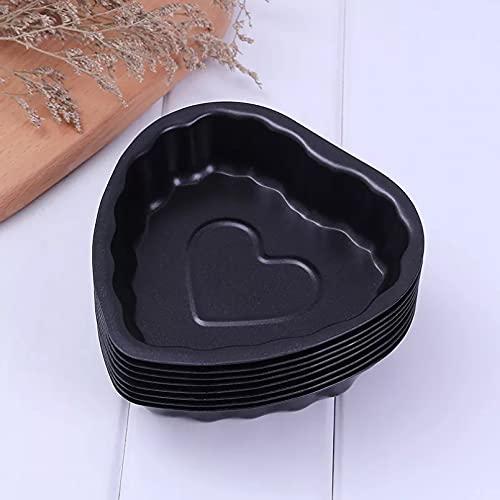 ARTAKA Utensilios paraHornearMolde para Pasteles de CocinaForma deAmorPlato para HornearAntiadherente Molde para PastelesDIY Bandeja de Pan de Queso para Hornear