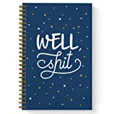 Softcover Well Sht 5.5' x 8.5' Snarky Spiral...