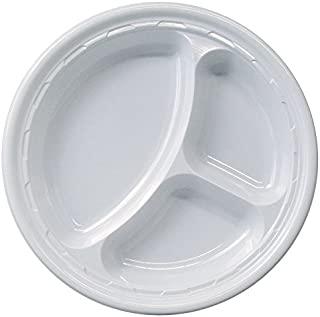 divided plastic plates