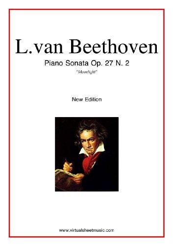 Moonlight Sonata by Ludwig van Beethoven (English Edition)