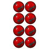 Best Sporting No. 1 - Pelota de Entrenamiento (tamaño 5, 8 Unidades), Color Rojo