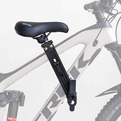 SHOTGUN - Asiento para bicicleta de montaña para niños de 2 a 5 años (hasta 21 kg) | Compatible con todos los adultos MTB | Fácil de instal