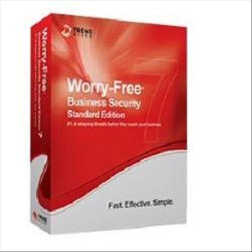 Trend Micro Worry-Free 9, STD, NEW, 5 US, 1Y 5utente(i) 1anno/i