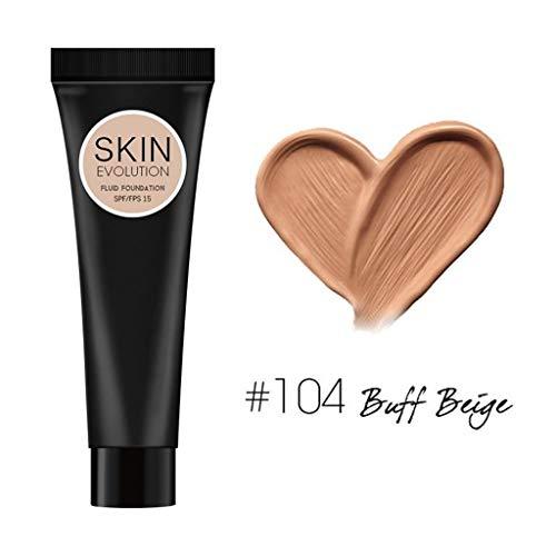 Allence Full Coverage Mineral BB Cream Volle Abdeckung Creme Concealing Foundation Concealer Make-up seidig glatte Textur Make-up Nude Magique CC Cream