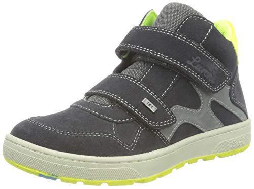 Lurchi Damian-TEX Sneaker, Charcoal, 31 EU