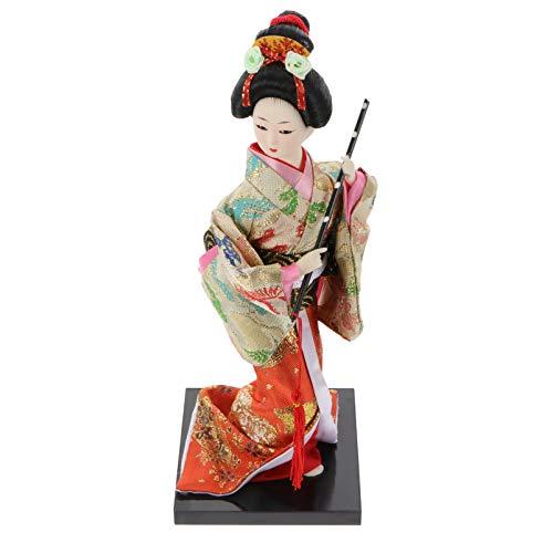 GARNECK Geisha japonesa muñeca Kimono Geisha asiática de colección, figuras decorativas de mesa, regalos para la cocina, casa, oficina, hotel