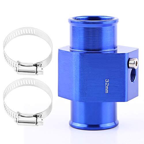 VGEBY Sonde Température De L'eau Tuyau Jauge Radiateur Durite Capteur Adapteur Tube Accord Bleu 26-40MM ( Taille : 32MM )