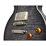 Epiphone Les Paul Standard Plustop PRO Electric Guitar, Trans Black