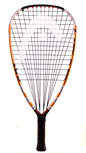 "HEAD Liquid Metal 180 Racquetball Racquet, (SS) 3 5/8"" Grip"