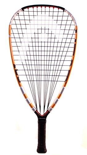 HEAD Liquid Metal 180 Racquetball Racquet, (SS) 3 5/8' Grip