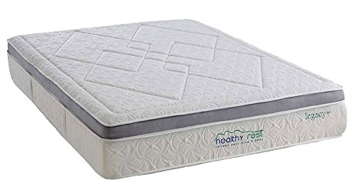 Lowest Price! Healthy Rest Legacy + Gel Memory Foam Mattress (Twin)