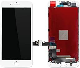 Skyline TFT LCD Touch Screen Digitizer Display Assembly Replacement for iPhone 4, 4s, 5, 5s, 5c, 6, 6plus, 6s, 6s Plus, 7, 7plus, 8, 8 Plus, X (White, 8)