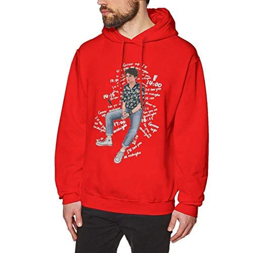 Herren Langarm-Sweatshirts Timothee Chalamet Band Bedruckte Hoodies 3D-Grafikpullover Animal Sportswear