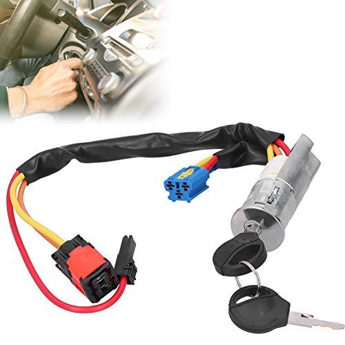Cerradura de interruptor de encendido, el interruptor reemplaza el interruptor de encendido Cerradura de encendido Interruptor de barril Llave de encendido de arranque con 4162P0 para