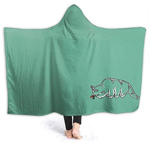 XCNGG Manta con Capucha Hooded Blanket Throw Avatar The Last Airbender Super Soft Sherpa Fleece Blanket Hood Poncho Cloak Cape