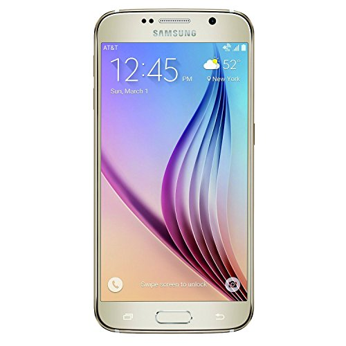 Samsung Galaxy S6 SM-G920V 32GB Gold Smartphone for Verizon (Renewed)