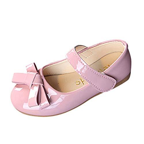 Babyschuhe, LANSKIRT Krabbelschuhe Kinder Sandalen Halbsandalen Ballerinas Kinderschuhe Schuhe Mädchen Lackschuhe Sandalen Flower Prinzessin Lederschuhe
