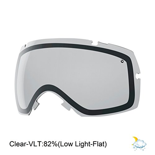 Smith IOX/IOX Turbo Snow Goggle Replacement Lens (Clear)
