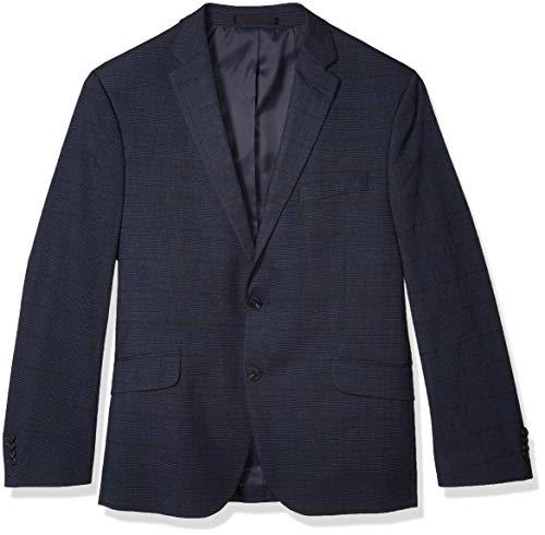 Kenneth Cole REACTION Slim Fit Men's Blazer, Blue Plaid, 38R