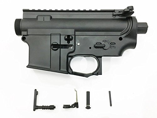 APS 電動M4用 メタルフレームセット KACタイプトリガーガード付(バレルナット加工済)