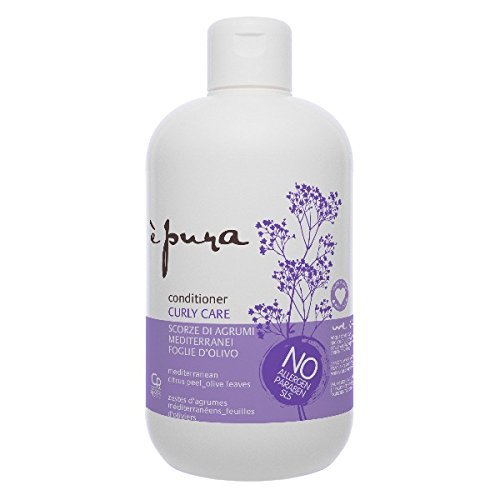 È Pura - Balsamo Curly Care - Trattamento per Capelli Ricci Naturali e Con Permanente - Idrata, Elasticizza e Protegge dall'Effetto Crespo - 500 ml
