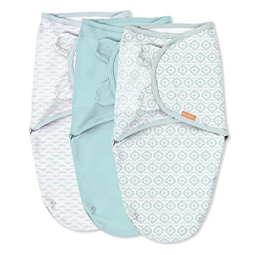 SwaddleMe Original Swaddle – Size Small, 0-3 Months, 3-Pack (Newport Shores)