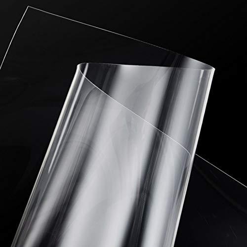 LSM Alfombra Pasillo Alfombrillas de Plástico de Vinilo Transparente, Alfombra Transparente Antideslizante, Felpudo para Sillas de Oficina, Protector, Alfombras de Pila Profunda para Cocina Proteger