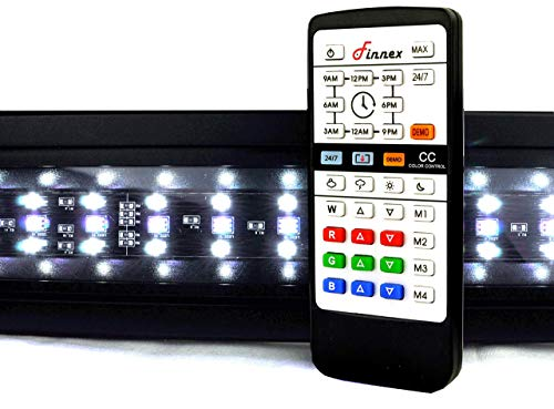 Finnex Planted+ 24/7 LED KLC Aquarium LED Light, Automated Full Spectrum Fish Tank Light, 24 Inch