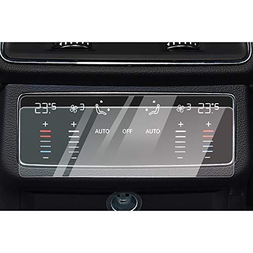 CDEFG für Audi A6 A7 C8 2018 2019 Navigation Glas Schutzfolie, Auto 9H Kratzfest Anti-Fingerprint GPS Transparent Displayschutzfolie (Rear A/C)
