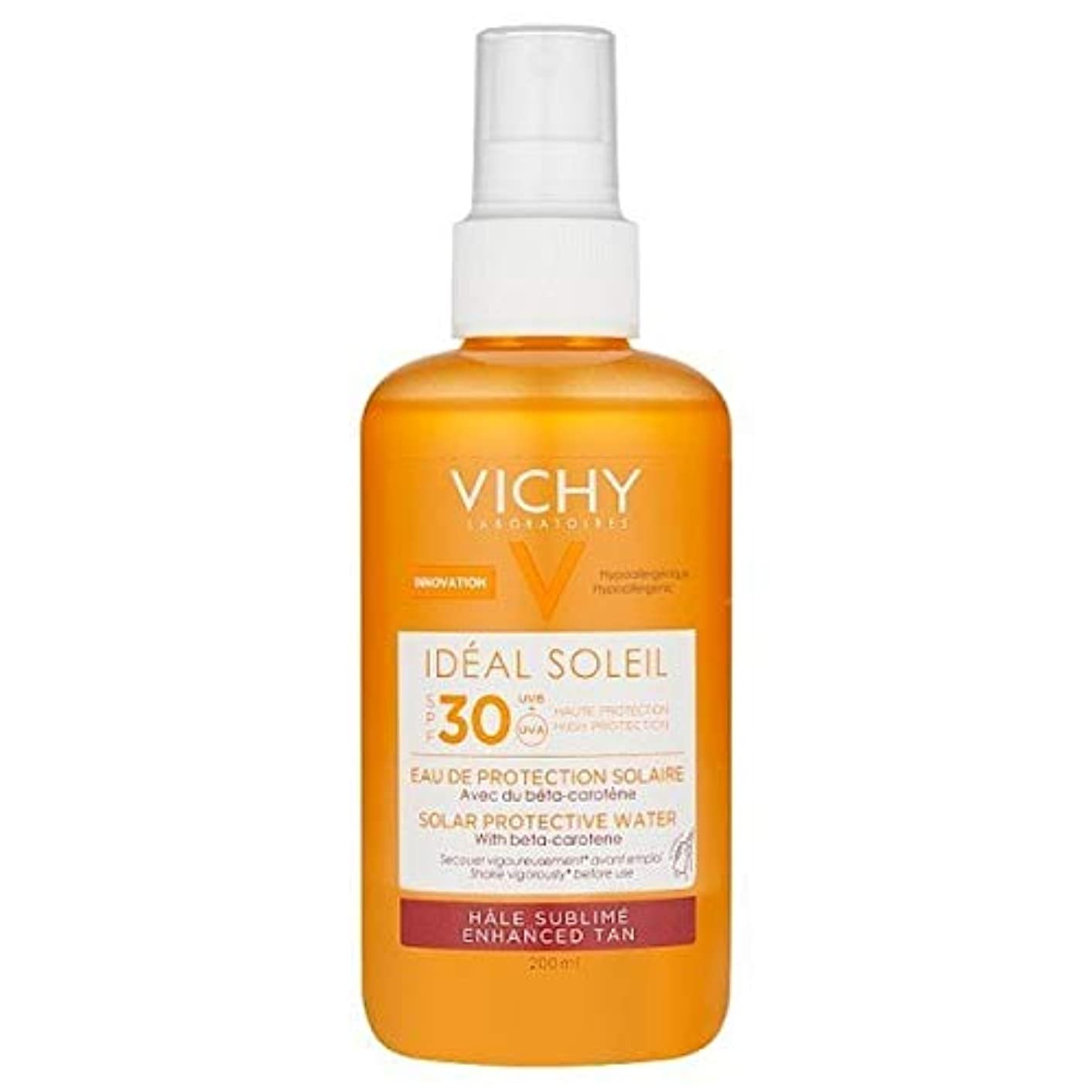 ラップおとなしいヒープ[Vichy ] ヴィシー理想的ソレイユ日焼け日焼け止め水Spf30の200ミリリットル - VICHY Ideal Soleil Tanning Sun Protection Water SPF30 200ml [並行輸入品]