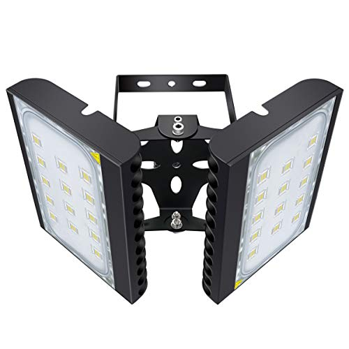 STASUN 200W LED Flood Light, 18000lm Super Bright Outdoor Security Lights with 330°Wide Lighting Area, OSRAM LED Chips, 6000K Daylight, IP66 Waterproof Outdoor Lighting for Yard Street Parking Lot