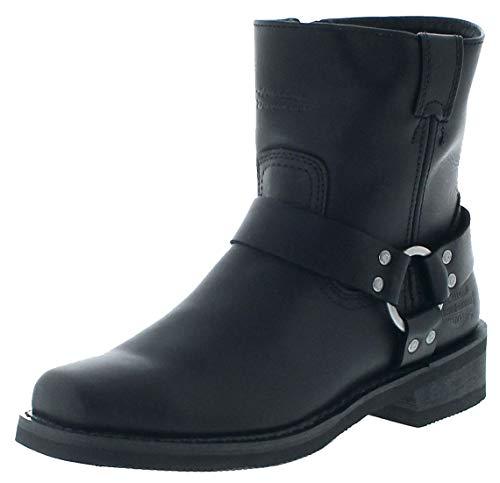FB Fashion Boots D94422 El Paso - Stivali da Motociclista, con Scarpa, Nero (Nero), 45 EU