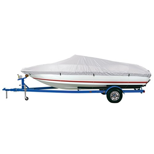 Dallas Manufacturing Co. Reflective Polyester Boat Cover E - 20-22' V-Hull Runabouts - Beam Width to 100'
