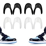 Comfowner Shoe Crease Protectors Toe Box Decreaser Prevent Shoes Crease Indentation Anti-Wrinkle Shoes Creases Protector Men's 7-12/ Women's 5-8 (4Pairs)