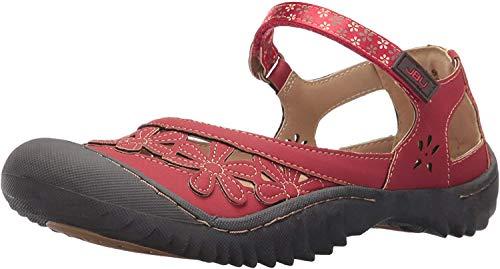 Jambu Jsport Women's Peony Red Synthetic Casual Shoe - 7.5 B(M) US