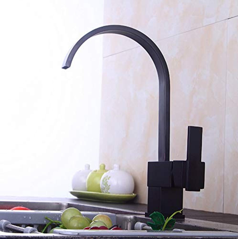 Xiujie Faucet Black Ancient Kitchen Faucet Basin Faucet 360 Degree redating Faucet