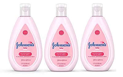 Johnson's Baby Lotion Travel Size 1.7 oz (50ml) - Pack of 3 from Johnson & Johnson
