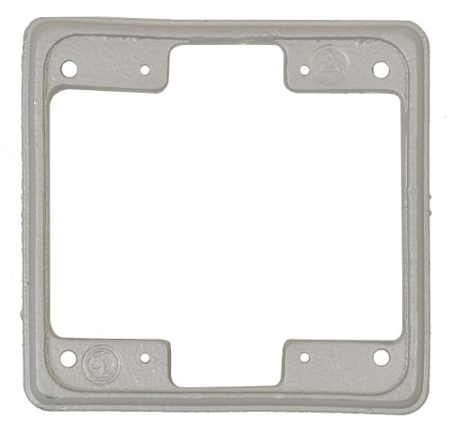 Appleton FS-2EXT Cast Box Extension, 2 Gang, Malleable Iron by Appleton