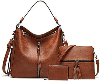 4-Pieces Ytl Wallet Tote Bag Shoulder Bag