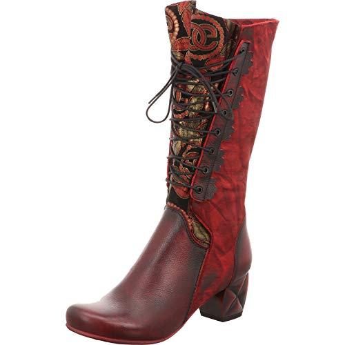 Simen Damen Stiefel Roter Stiefel 0780A rot 561113