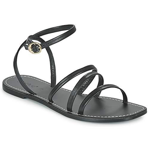 Kickers Kicknice Sandalen/Sandaletten Damen Schwarz - 40 - Sandalen/Sandaletten Shoes