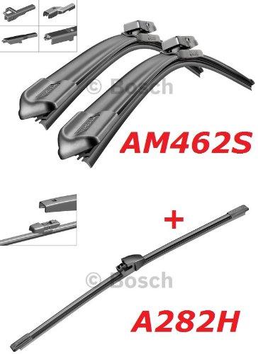 Preisvergleich Produktbild Bosch Scheibenwischer Front.- und Heckwischer - Aerotwin AM462S Längen: 600 / 475mm (3397007462) & A282H Länge: 280mm (3397008634)