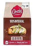 Ortiz pan tostado integral, 30 rebanadas, 324gr