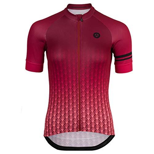 AGU Art Deco Fietsshirt Trend Dames - Roze - XXL
