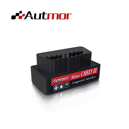 Autmor OBD2 Super Mini Wi-Fi OBD2 Scanner Diagnostico per Auto Strumenti per Il Controllo della Diagnostica del Motore