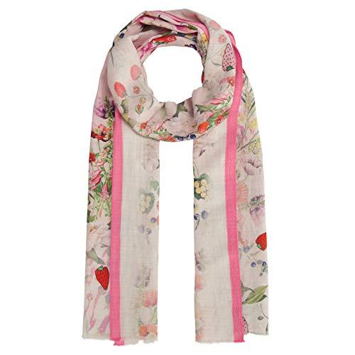 CODELLO Damen XL-Schal aus Baumwolle und Modal